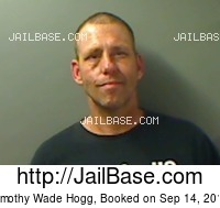 TIMOTHY WADE HOGG mugshot picture