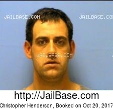 Christopher Henderson mugshot picture