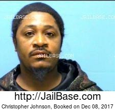 Christopher Johnson mugshot picture