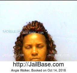 Angie Walker mugshot picture