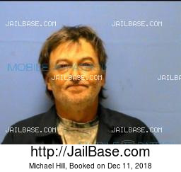Michael Hill mugshot picture