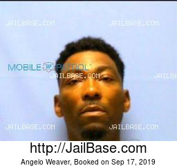 Angelo Weaver mugshot picture