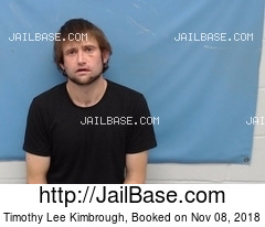 TIMOTHY LEE KIMBROUGH mugshot picture