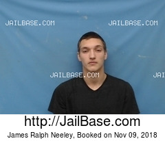 JAMES RALPH NEELEY mugshot picture