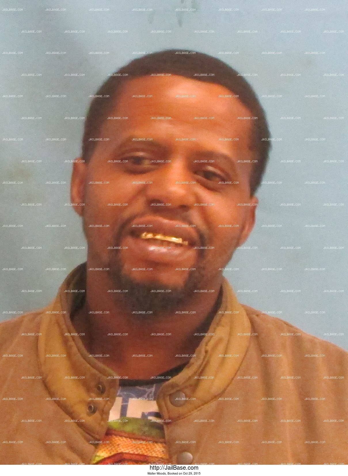 Walter Woods mugshot picture