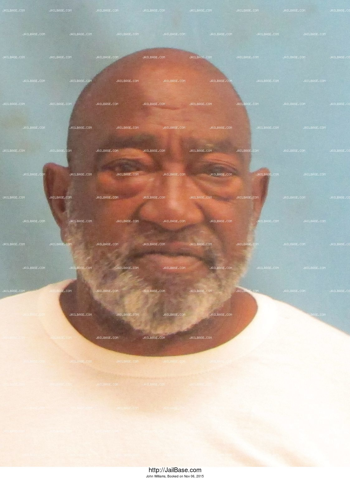 John Williams mugshot picture