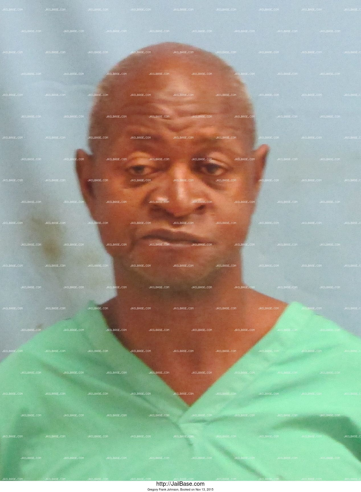 Gregory Frank Johnson mugshot picture