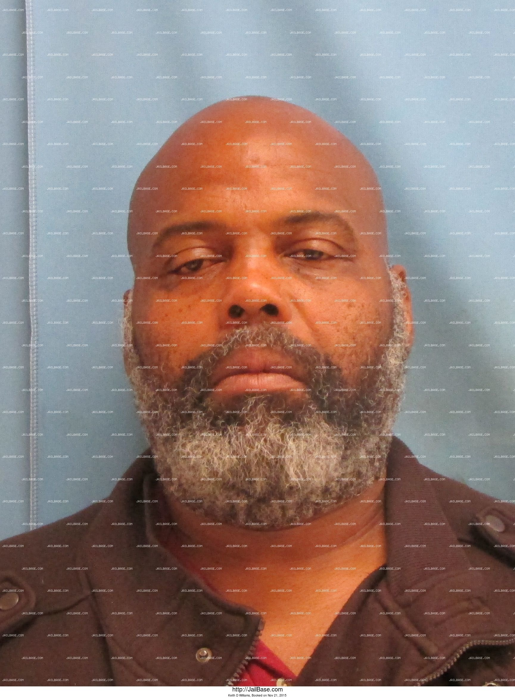 Keith D Williams mugshot picture