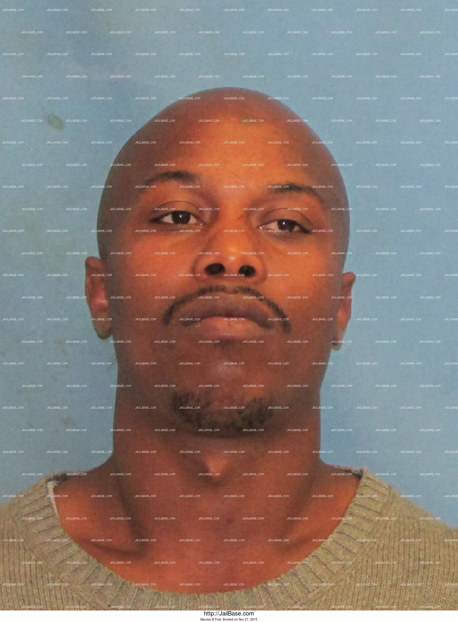 Maurice B Ford mugshot picture