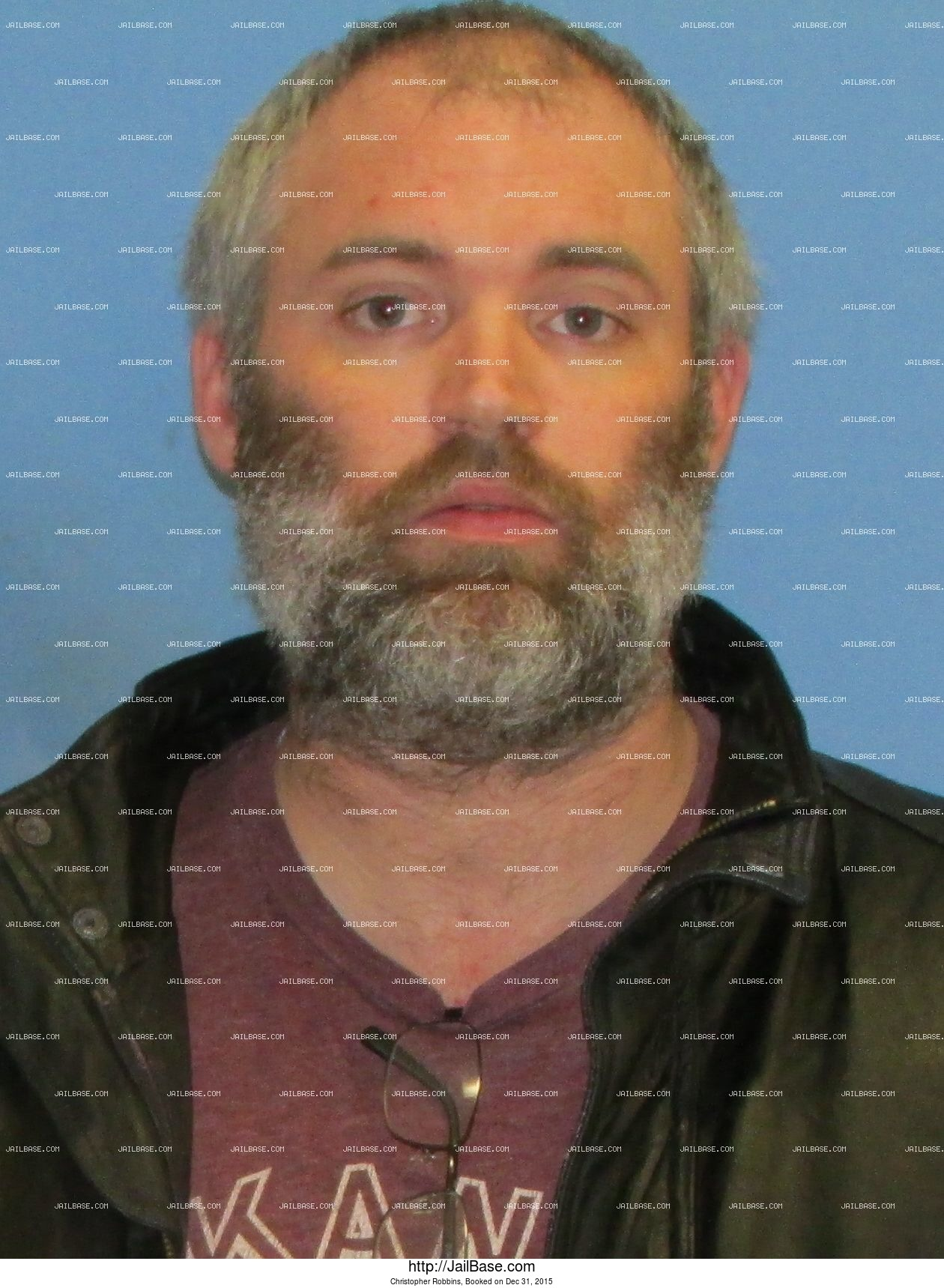 Christopher Robbins mugshot picture