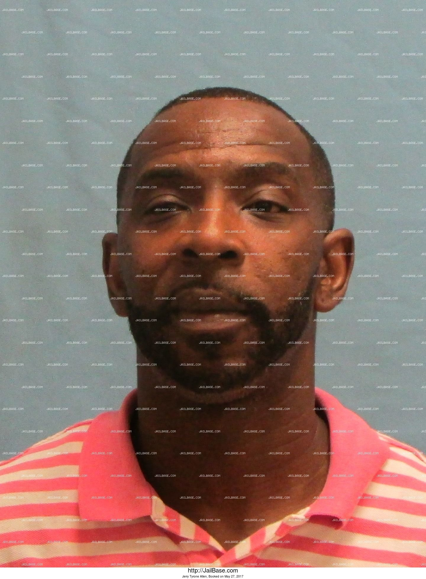 Jerry Tyrone Allen mugshot picture