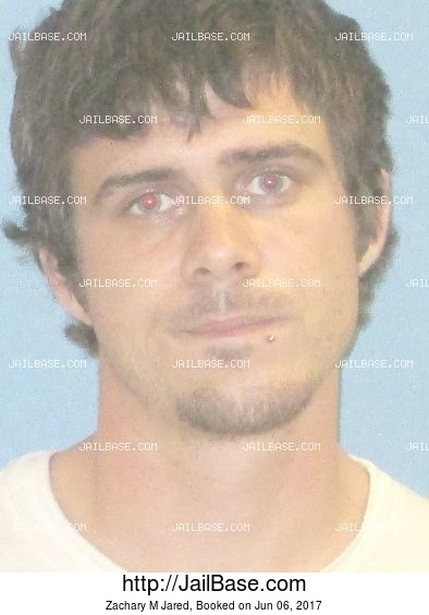 Zachary M Jared mugshot picture