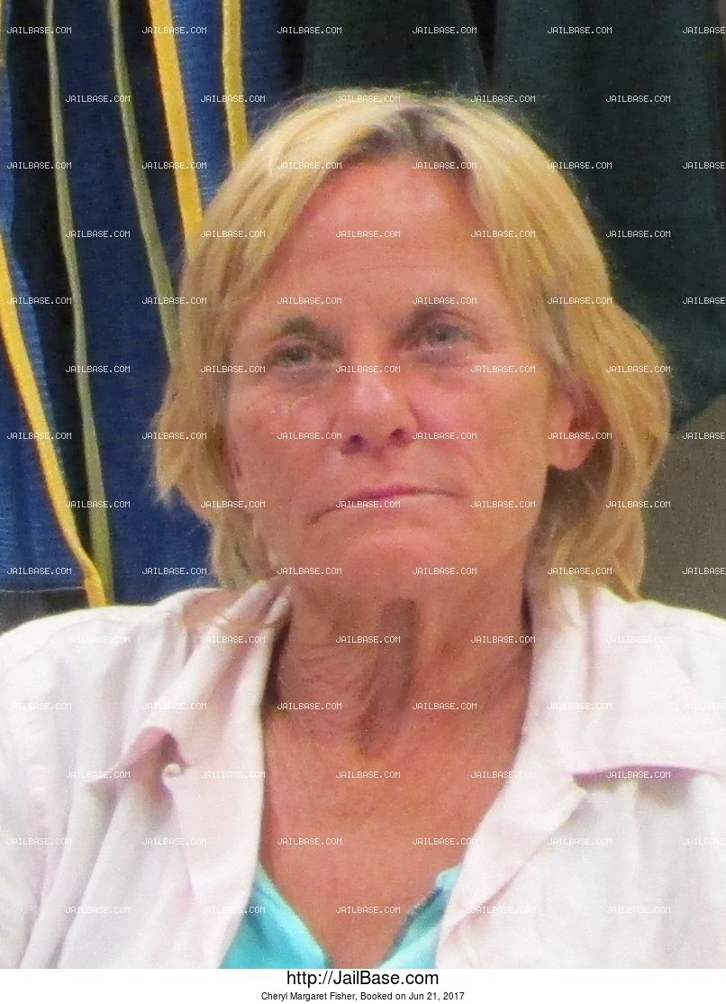 Cheryl Margaret Fisher mugshot picture
