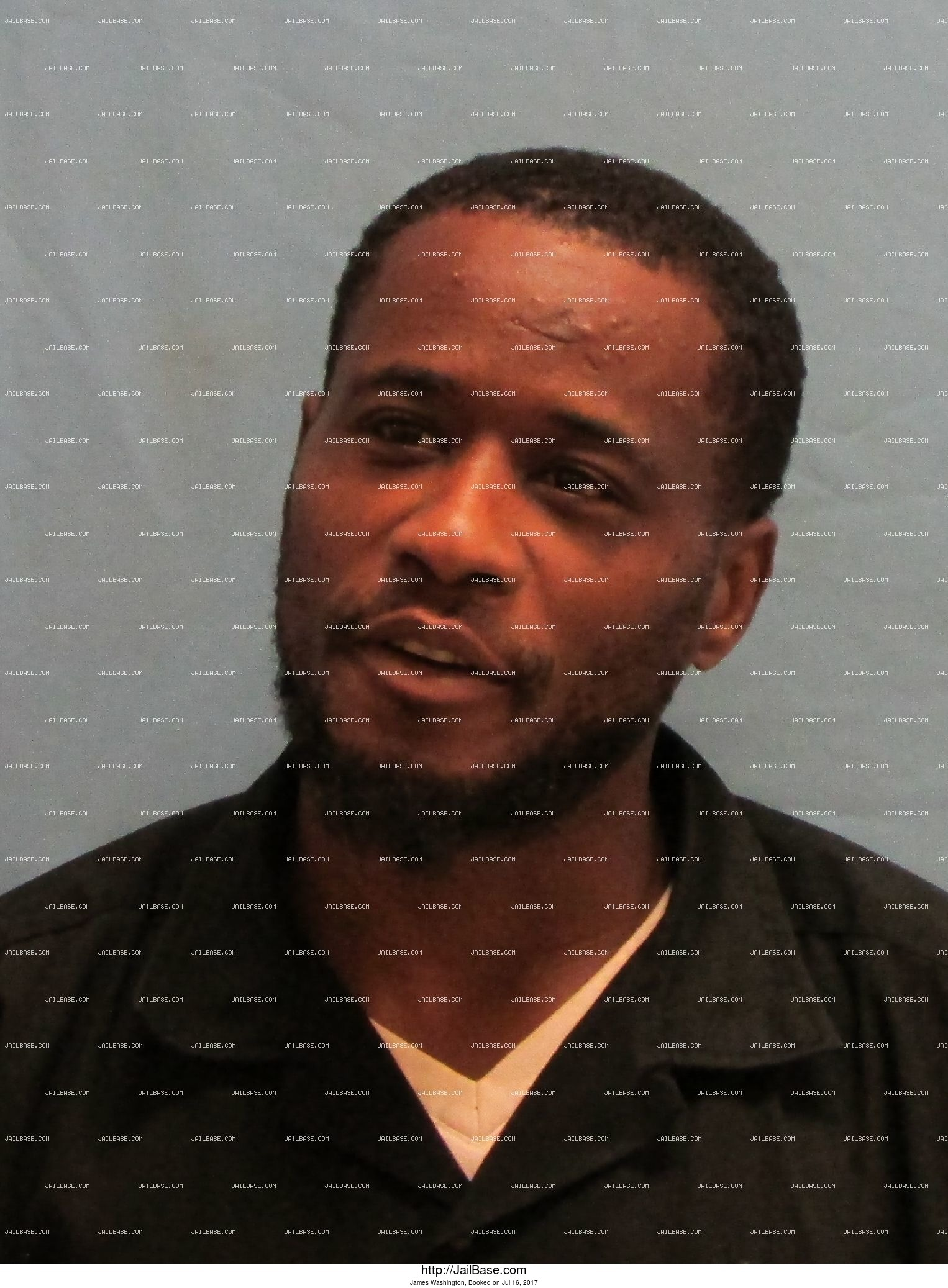 James Washington mugshot picture