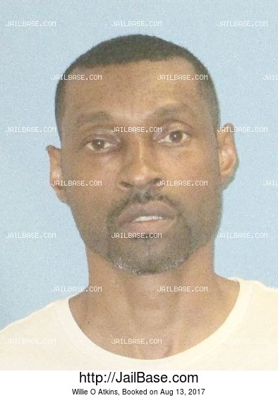 Willie O Atkins mugshot picture