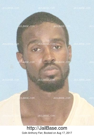 Colin Anthony Farr mugshot picture