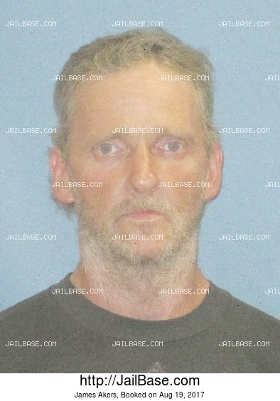 James Akers mugshot picture