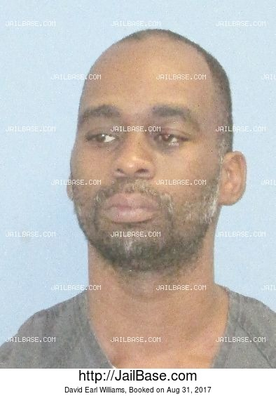 David Earl Williams mugshot picture