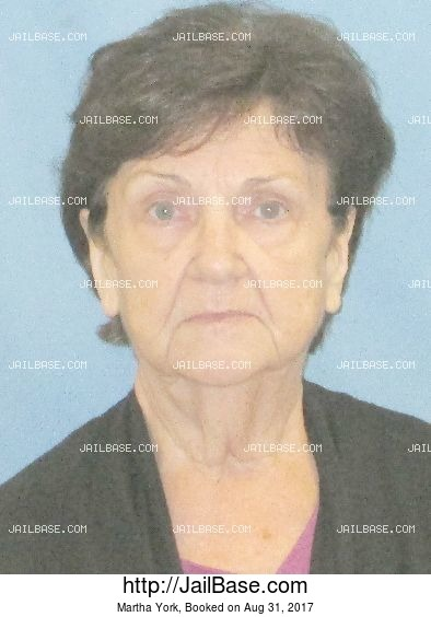 Martha York mugshot picture