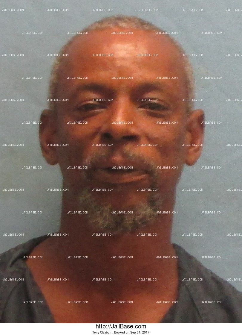 Terry Clayborn mugshot picture