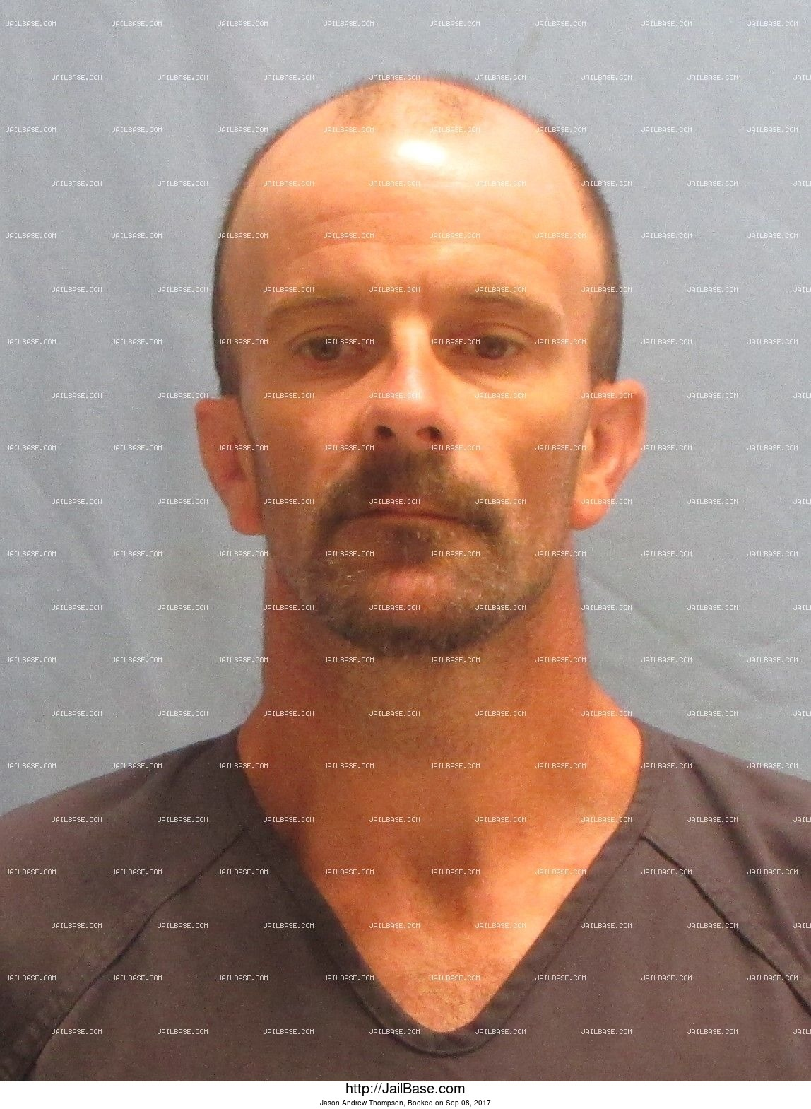 Jason Andrew Thompson mugshot picture