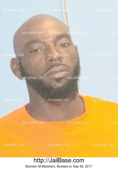 Brandon M Blackmon mugshot picture