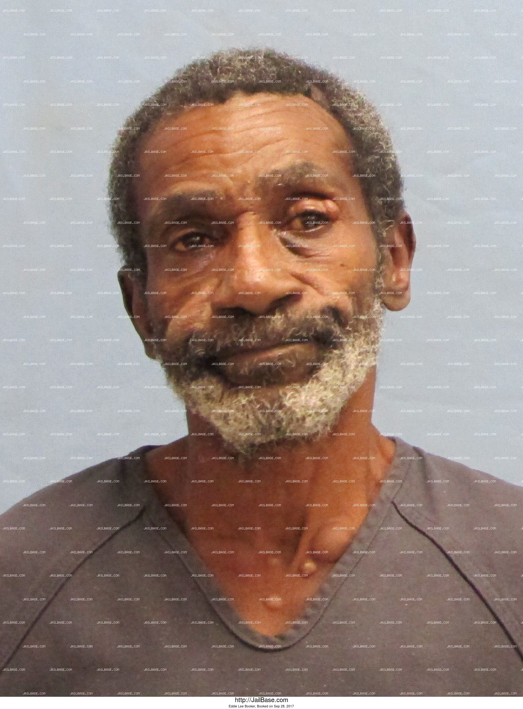 Eddie Lee Booker mugshot picture