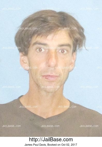 James Paul Davis mugshot picture