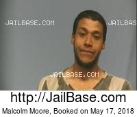 MALCOLM MOORE mugshot picture