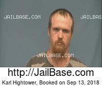 KARL HIGHTOWER mugshot picture