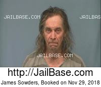 JAMES SOWDERS mugshot picture