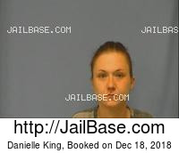 DANIELLE KING mugshot picture