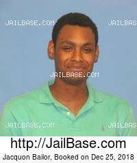 JACQUON BAILOR mugshot picture
