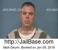 MARK GEURIN mugshot picture