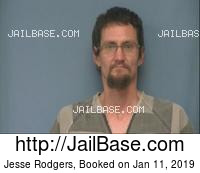 JESSE RODGERS mugshot picture