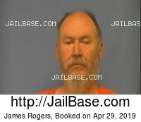 JAMES ROGERS mugshot picture