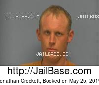 JONATHAN CROCKETT mugshot picture