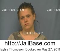 HAYLEY THOMPSON mugshot picture