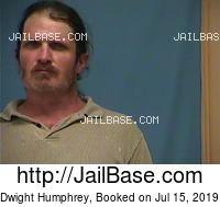 DWIGHT HUMPHREY mugshot picture