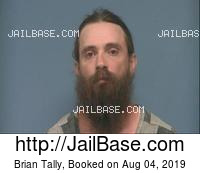BRIAN TALLY mugshot picture