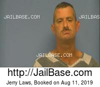 JERRY LAWS mugshot picture