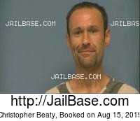 CHRISTOPHER BEATY mugshot picture