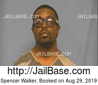 SPENCER WALKER mugshot picture