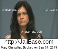 MARY CHEVALLIER mugshot picture