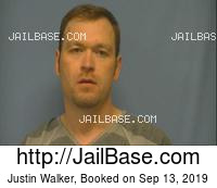 JUSTIN WALKER mugshot picture