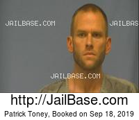 PATRICK TONEY mugshot picture