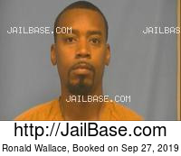 RONALD WALLACE mugshot picture