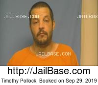 TIMOTHY POLLOCK mugshot picture