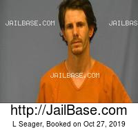 L SEAGER mugshot picture