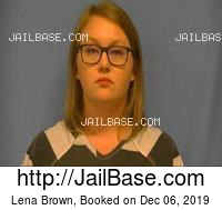 LENA BROWN mugshot picture